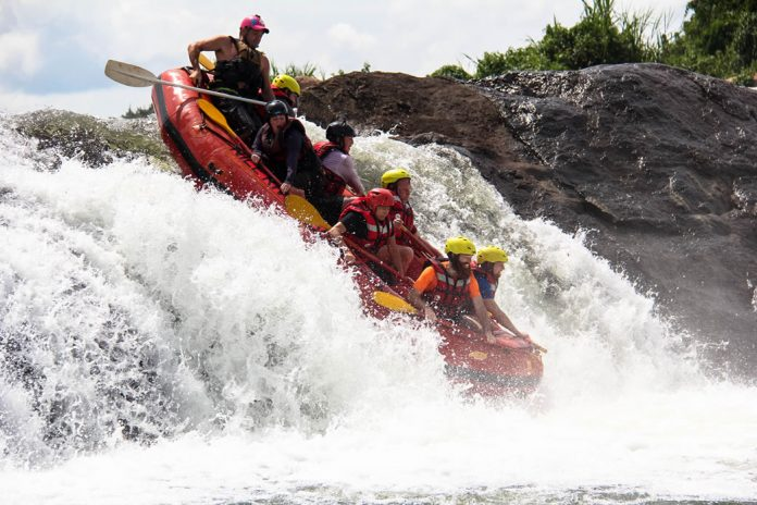 Rafting the Nile River